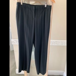 Alfani Black Pinstriped Pants